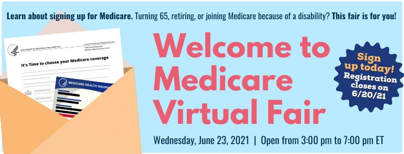 Medicare Virtual Fair June 23, 2021